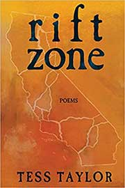 A book cover for Rift Zone