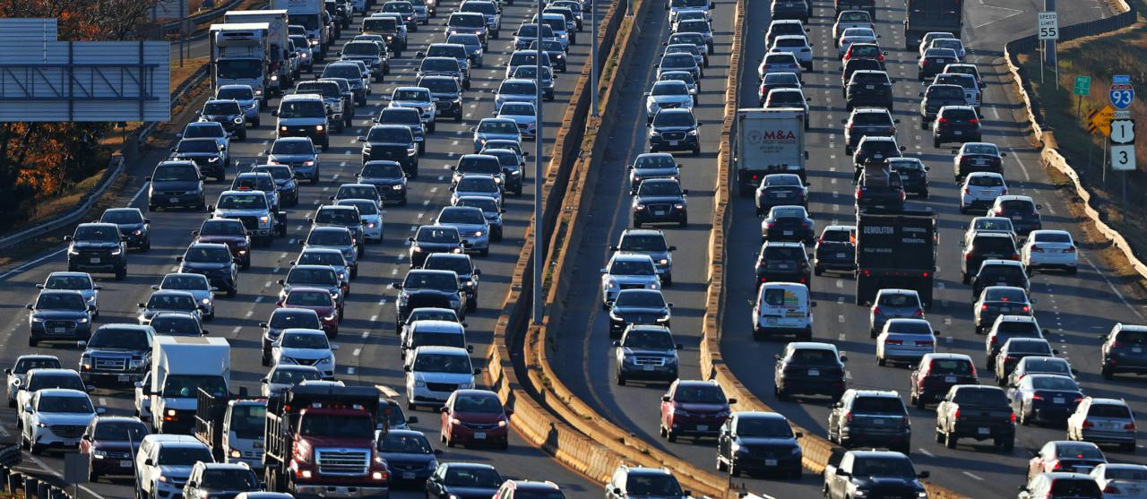 Epic traffic paralyzes the region as gridlock grips the halls of power