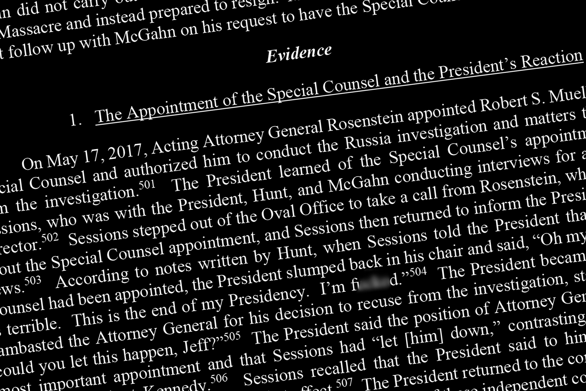 Donald Trump got away with obstructing the investigation into his campaign's dealings with Russia when it interfered in the 2016 election, also known as the Mueller inquiry. The Mueller report detailed the ways that the president thwarted the special counsel's efforts to discover the truth about how the Trump campaign may have cooperated with Russia to secure electoral victory.
