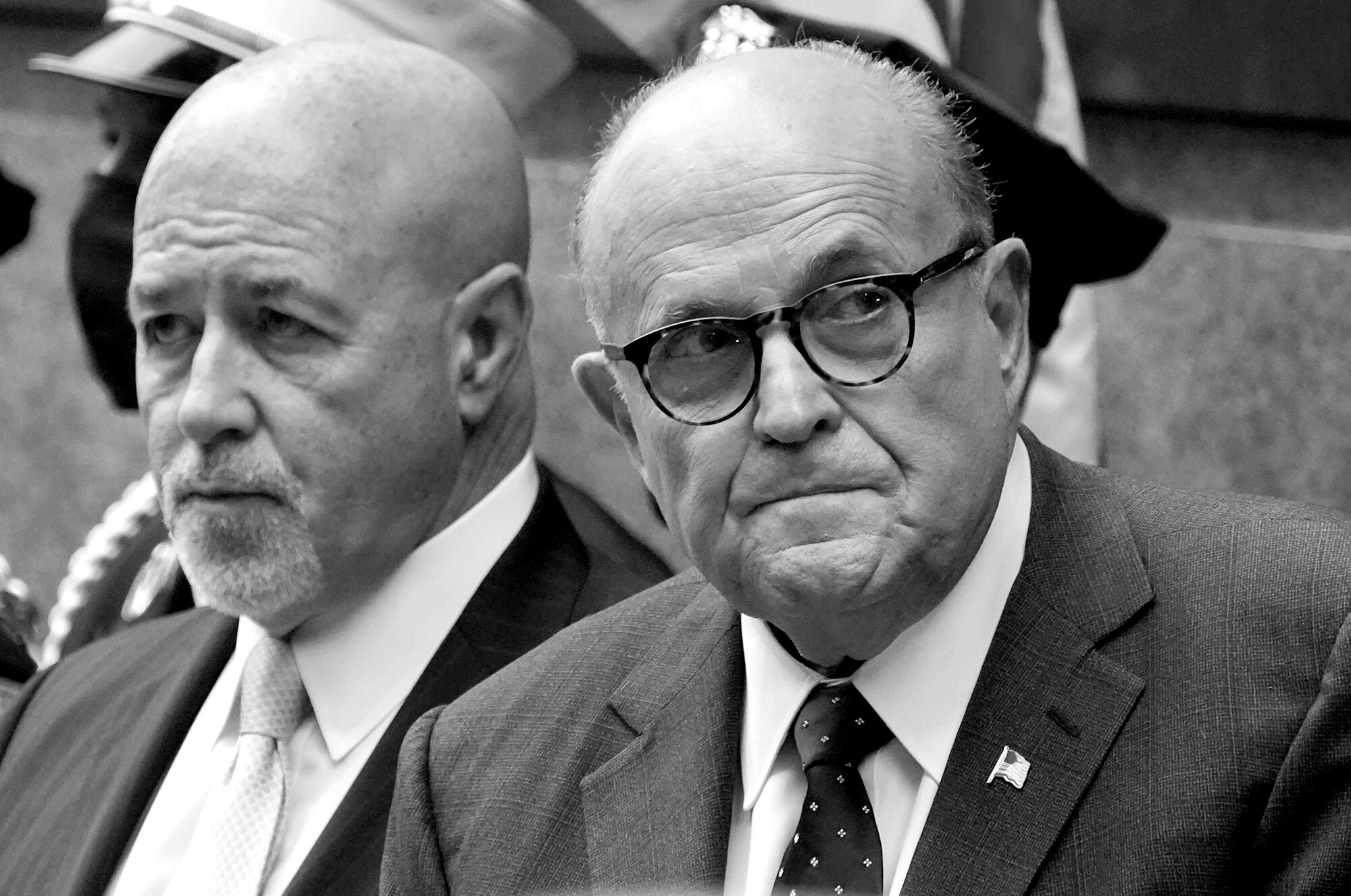 Donald Trump pardoned a longtime friend of his personal lawyer Rudy Giuliani, the former New York City Police Commissioner Bernard Kerik (left), for felony convictions. Future presidents might use the pardon power to even more detrimental effect to shield themselves and their inner circle from those who could testify to their misdeeds or crimes.