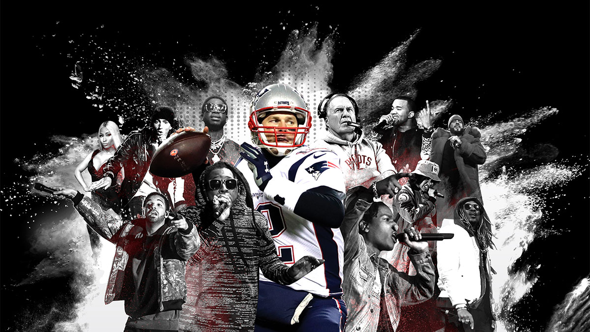 From Lil Wayne to Drake, Tom Brady is hip-hop's perfect